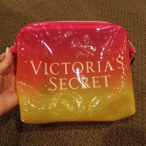 VS Pink & Yellow cosmetic bag